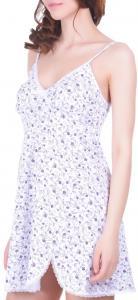 Фото Бельевой трикотаж Verally Ночная сорочка Verally 325 фиолетовый узор