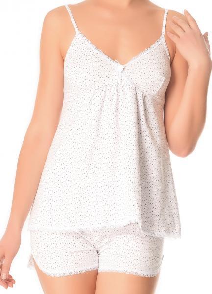 Пижама Verally 324 в горошек