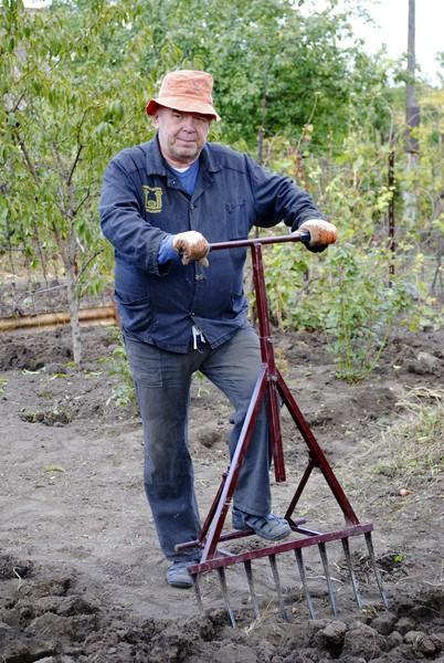 Фото Рыхлители почвы Копалочка 70см (8зуб)