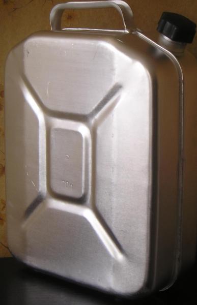 Канистра металлическая