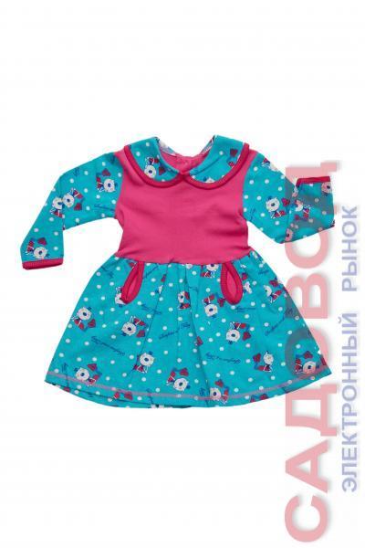Платье футер