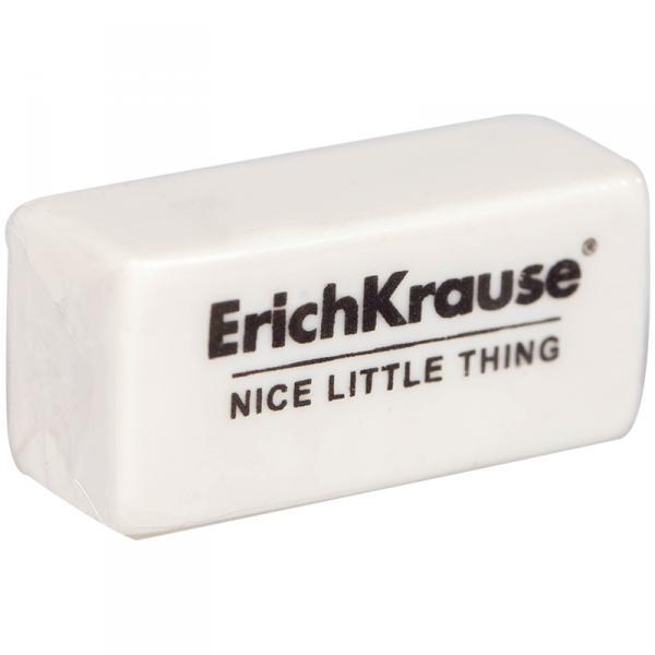"Ластик Erich Krause ""Nice Little Thing"", прямоугольный, термопластичная резина, 32*15*12мм"