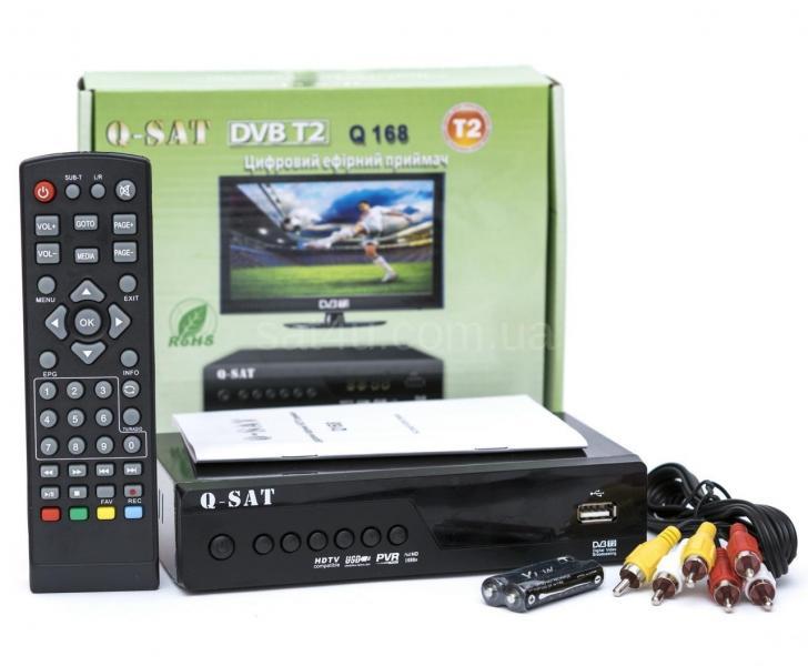 Эфирный цифровой ресивер Q-SAT Q-168 DVB-T2