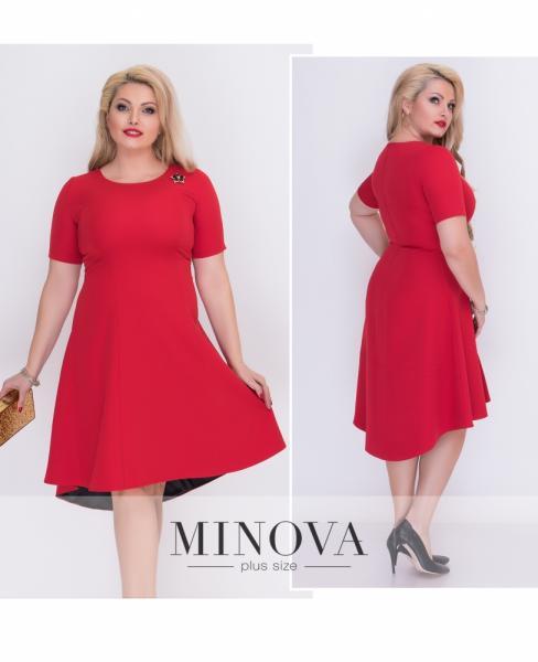 Платье №18-14-красный