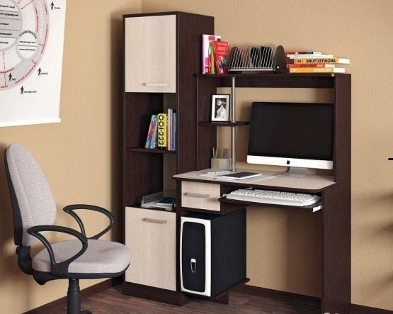Фото Столы компьютерные и письменные Компьютерный стол Дебют (БТС)