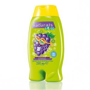 Дитячий гель для душу/піна для ванни «Смішний виноград», 250 мл