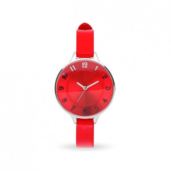 Жіночий кварцовий годинник «Сурі». Червоний