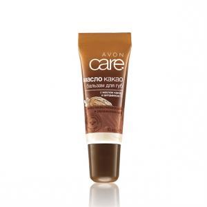 Відновлювальний зволожувальний бальзам для губ з маслом какао і вітаміном Е, 10 мл