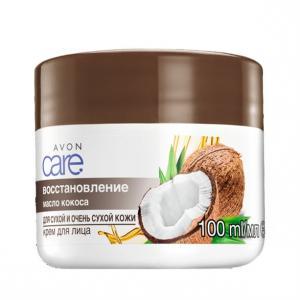 Крем для обличчя «Олія кокоса. Відновлення» (100 мл)