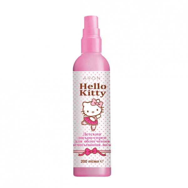 Дитячий лосьйон-спрей для полегшення розчісування волосся Avon Hello Kitty, 200 мл