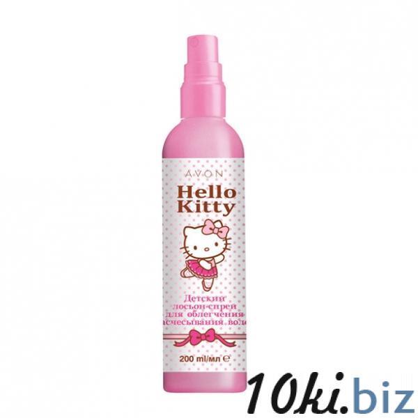 Дитячий лосьйон-спрей для полегшення розчісування волосся Avon Hello Kitty, 200 мл купить в Херсоне - Детские гели для душа и пенки для купания