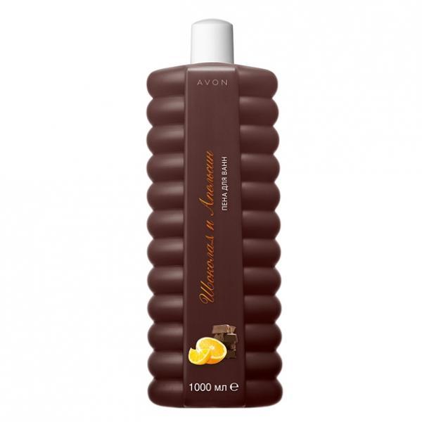 Піна для ванни «Шоколад і апельсин», 1000 мл