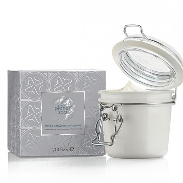 SPA Крем-суфле для тіла з мінералами Мертвого моря «Ідеальне очищення»