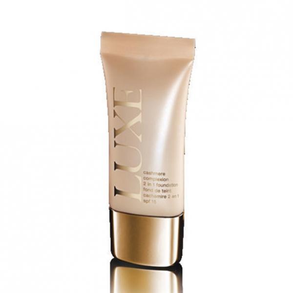 Тональний крем для обличчя «Кашемір» LUXE SPF 15