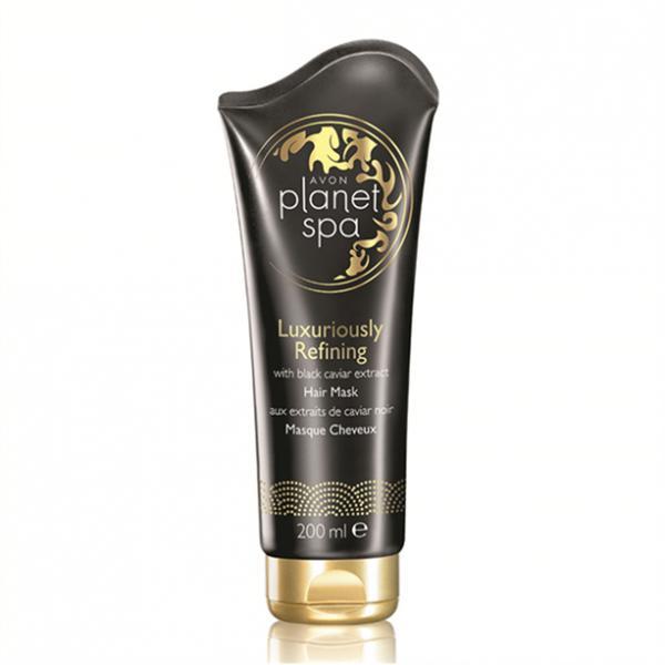 Маска для волосся з екстрактом чорної ікри «Розкішне оновлення» (200 мл)