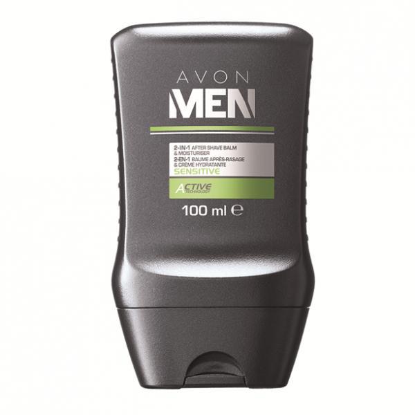 Комплексний засіб для обличчя «М'який догляд» 2-в-1: бальзам після гоління і зволожувальний крем, 100 мл
