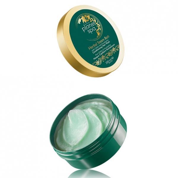Зволожувальна маска для волосся Herbal Steam Bath з екстрактом кедрової сосни і евкаліпта (200 мл)
