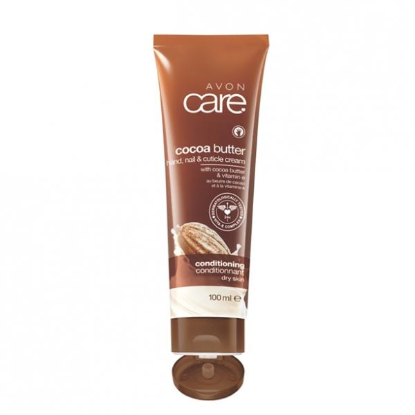 Відновлювальний зволожувальний крем для рук, нігтів і кутикули з маслом какао і вітаміном Е, 100 мл