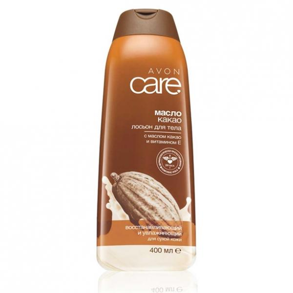 Відновлювальний зволожувальний лосьйон для тіла з маслом какао і вітаміном Е, 400 мл