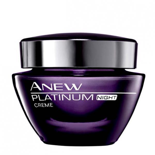 Моделюючий нічний крем для обличчя Anew Platinum для віку 55+, 50 мл