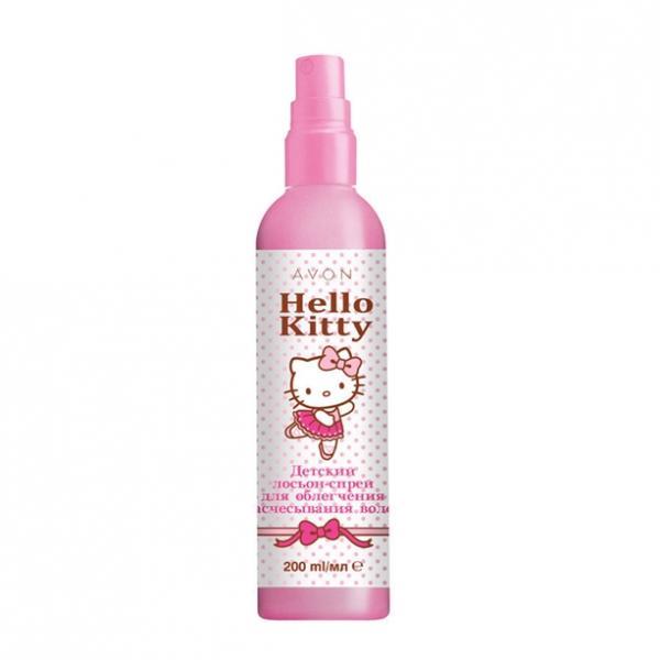 Дитячий лосьйон-спрей для полегшення розчісування волосся Avon Hello Kitty, 200 мл