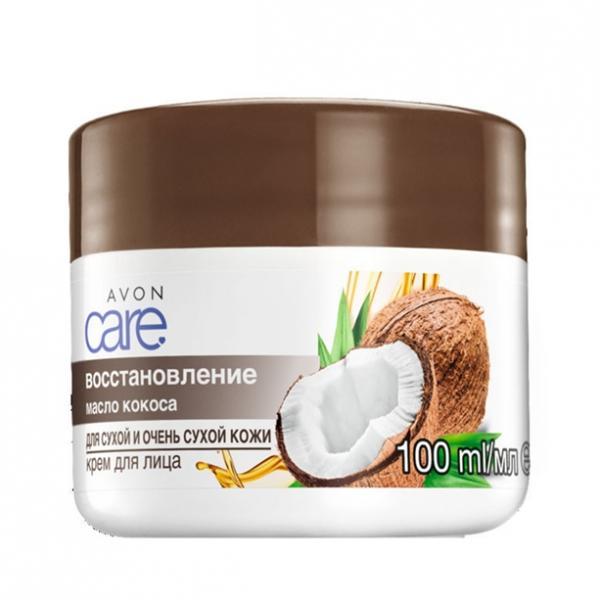 Крем для лица «Масло кокоса. Восстановление» (100 мл)
