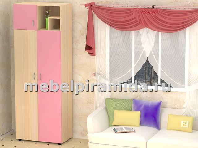 Фото Детская мебель Шкаф платяной Лотос (Пирамида)