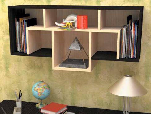 Фото Детская мебель, Детские полки, стеллажи  Полка навесная ПН-2 (Пирамида)