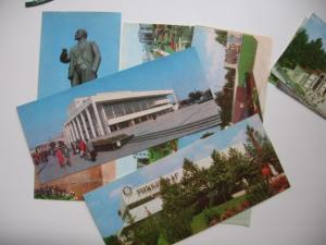 Фото Почтовые открытки (карточки), открытки, Города Симферополь набор открыток 11 штук 1978