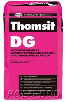 DG 25кг Самовыравнивающаяся гипсово-цементная смесь, 25 кг
