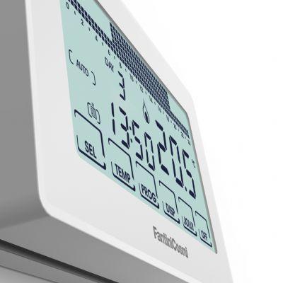 Фото Комнатные хронотермостаты Недельный термостат c сенсорным экраном СН180 (белый)