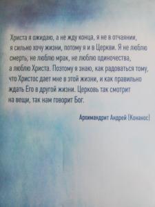 Фото  Не бойся радоваться. Беседы о Православии. Архимандрит Андрей Конанос
