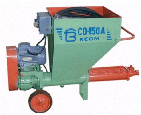 Агрегаты шпаклевочные СО-150А
