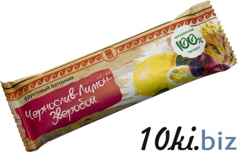 """Батончик """"Чернослив-лимон-зверобой"""" Шоколад, конфеты в Самаре"""