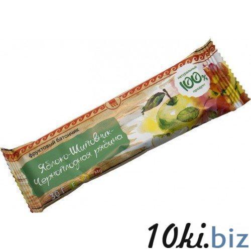 """Батончик фруктовый """"Яблоко-шиповник-черноплодная рябина"""" Шоколад, конфеты в Самаре"""