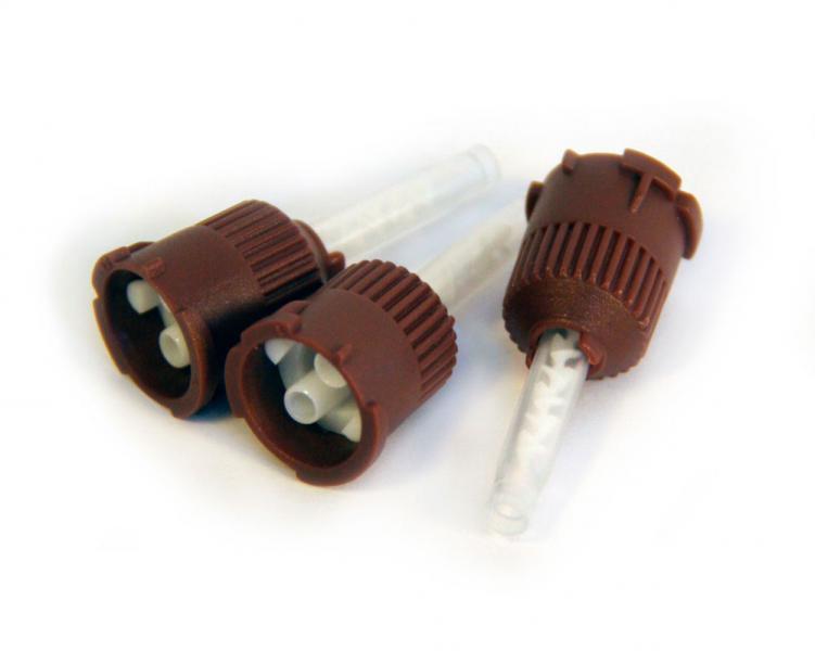 Насадка смешивающая для шприца типа Smartmix 1:1 (25 шт) уп.