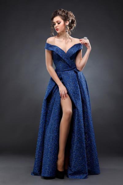 Длинное вечернее платье Гала