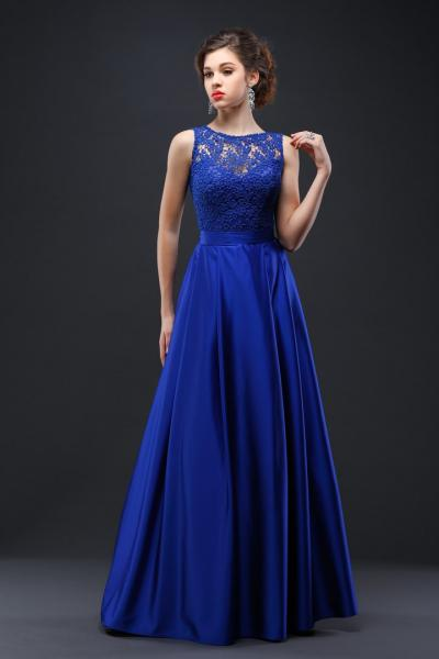 Длинное вечернее платье Хельга