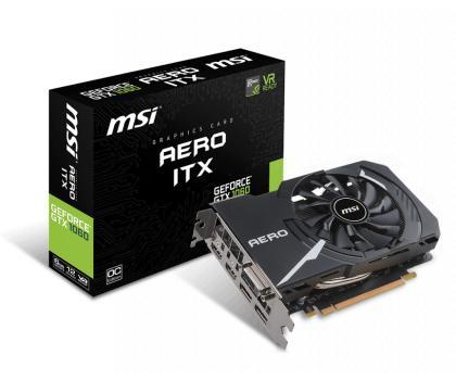 MSI GeForce GTX 1060 Aero ITX 6GB OC GDDR5 192bit