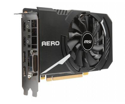 Фото Видеокарты MSI GeForce GTX 1060 Aero ITX 6GB OC GDDR5 192bit