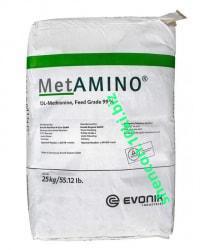 Фото Аминокислоты DL-Метионин кормовой (Evonik)