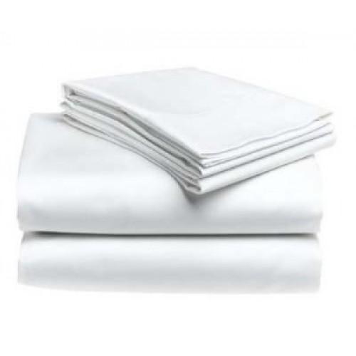 Фото ПОСТЕЛЬНОЕ БЕЛЬЕ, однотонное Комплект постельного белья белоснежный