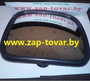 Фото  Зеркало боковое 458201-030 МАЗ (230х230мм)  с подогревом 24V широкоугольное