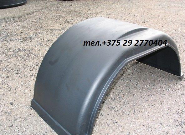 Крыло грузовое пластиковое  R16 круглое К-470 Газель