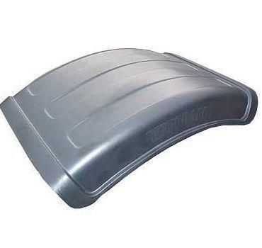 Крыло пластиковое МАЗ КАМАЗ К-670 1/3 заднее (полукрылок)