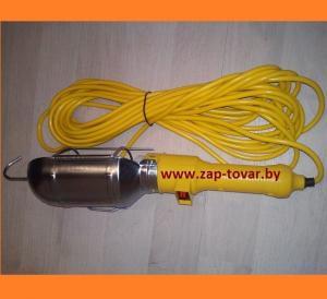Фото  Лампа переносная (переноска) 220v L10м купить в Минске