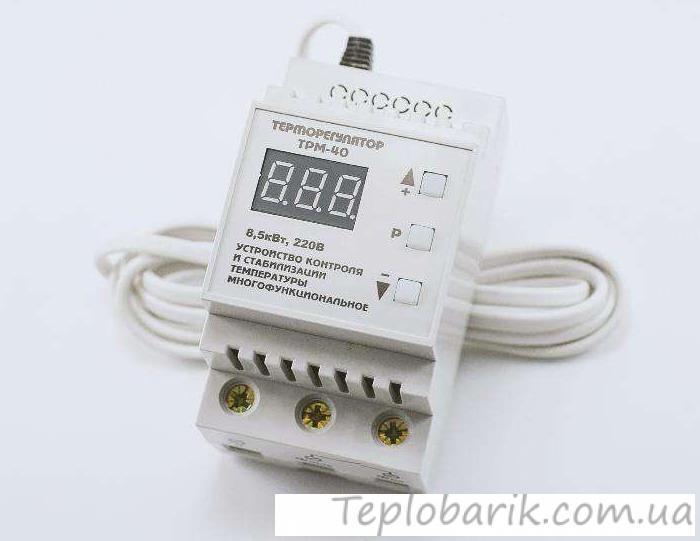 Фото Терморегуляторы для инкубаторов, Терморегулятор многоцелевой ТРМ Терморегулятор Многоцелевой на Динрейку ТРМ -40
