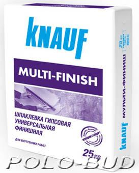 Шпаклевка Multifinish, 25кг