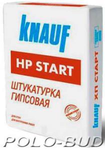 Фото ШТУКАТУРКИ   &   ШПАТЛЕВКИ Штукатурка Knauf HP Start, 30кг.