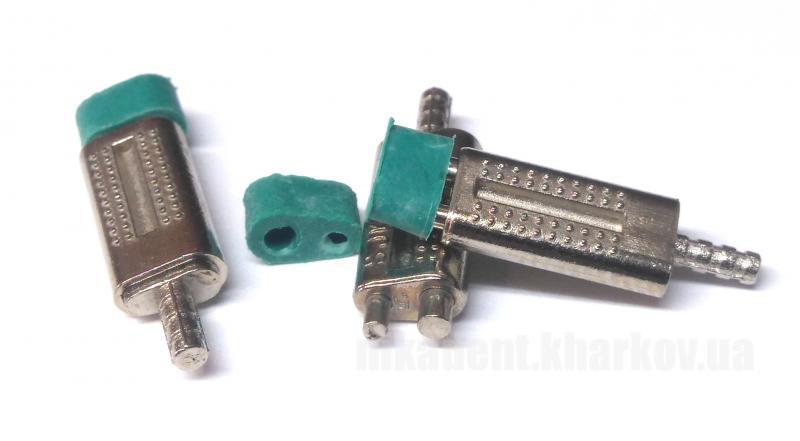 Фото Для зуботехнических лабораторий, АКСЕССУАРЫ, Инструменты Би-Ви-Пин (Зеленые с металлической втулкой) -500шт / уп.